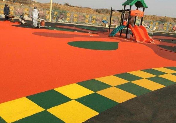 basket sahası ve oyun alanları